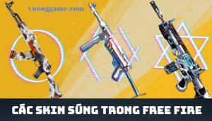các skin súng trong free fire