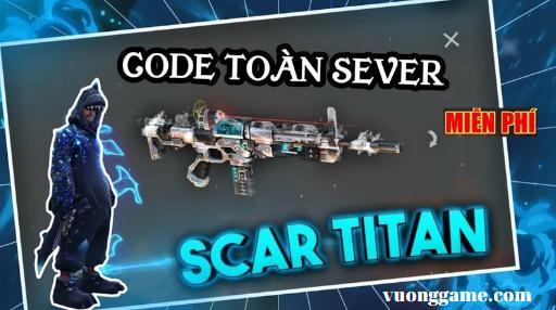 cách nhận scar titan free fire