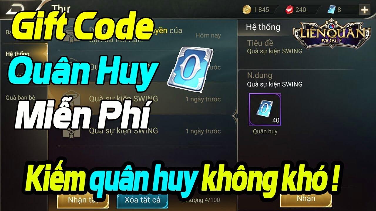 code quân huy