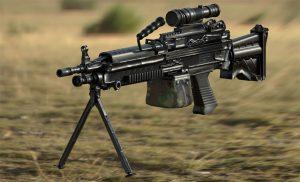 súng máy trong free fire là súng gì