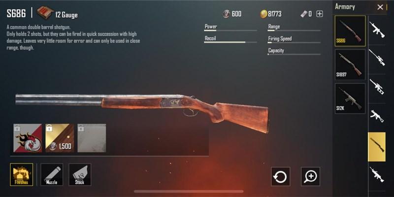 súng s686